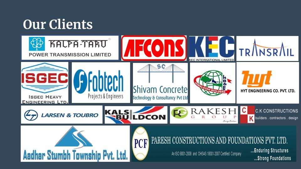 JP Construction clients